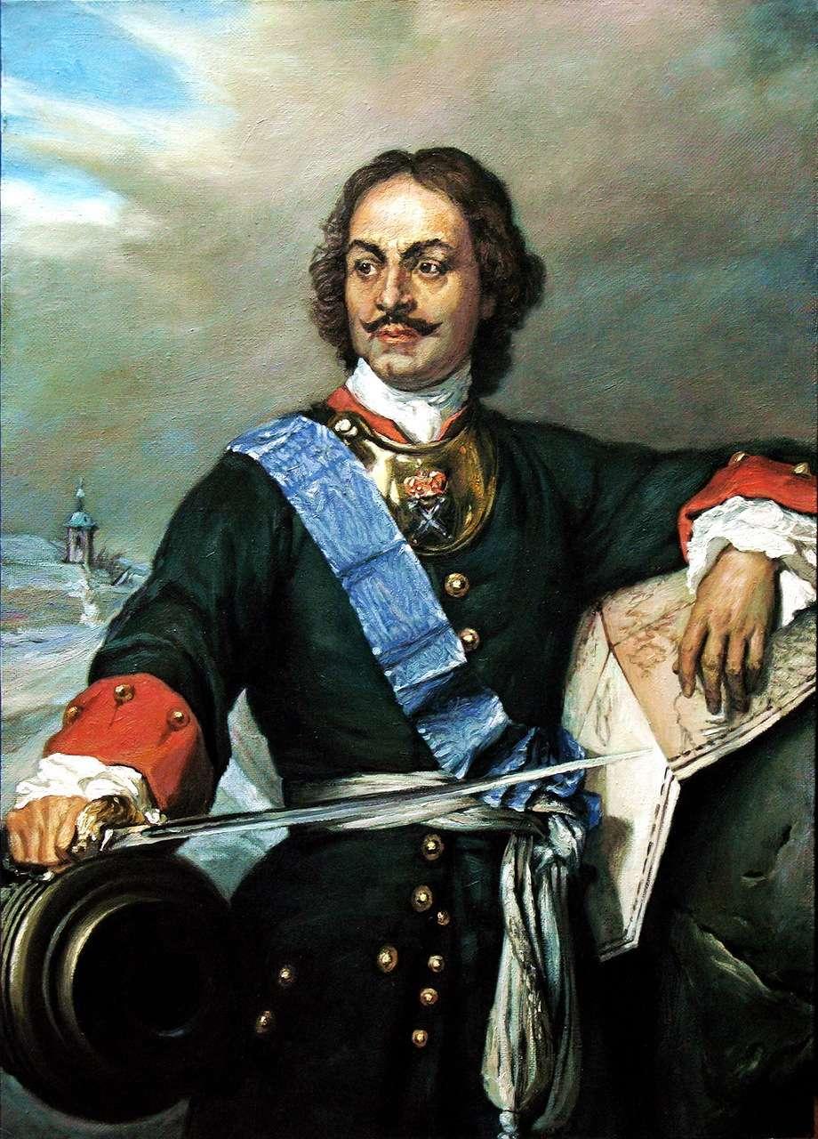 Портрет работы неизвестного художника (первая половина xviii в